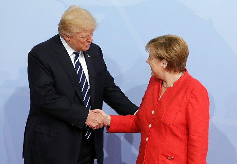Саммит G20 в Гамбурге