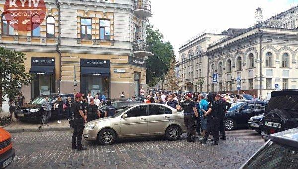 Предотвращенные около консульства Польши вКиеве провокации были заказаны спецслужбами РФ— СБУ