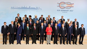 Саммит G20. Коллективное фото