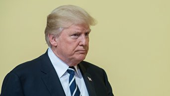 Саммит G20 в Гамбурге. Президент США Дональд Трамп