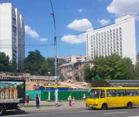 В доме в Киеве прогремел взрыв