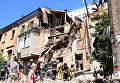 Взрыв в жилом доме в Киеве