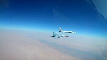 Удар новейшими крылатыми ракетами Х-101 по ИГ в Сирии. Видео