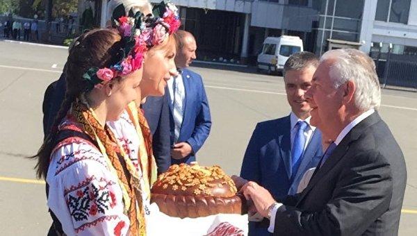 Встреча Тиллерсона в Киев