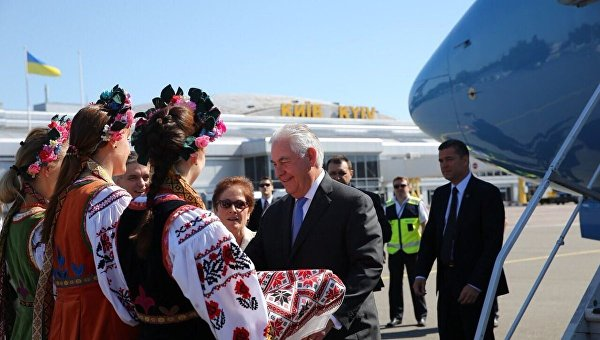 Встреча Тиллерсона в Киеве