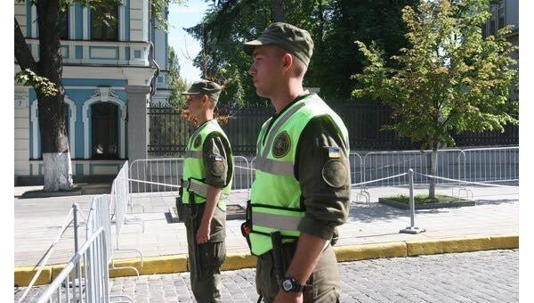 Милиция усилила охрану правопорядка вцентре столицы Украины