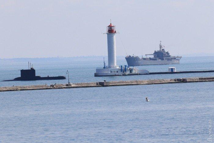 Самолеты НАТО и корабли Турции прибыли в Одессу