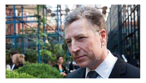 Специальный представитель по переговорам по урегулированию ситуации в Украине Курт Уолкер