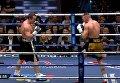 Сложный поединок Лебедева с Флэнаганом за чемпионский титул. Видео