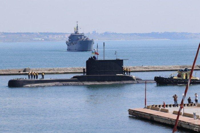 Подводная лодка ВМС Турции в Одессе