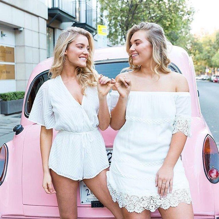 Пышка и худышка: подруги-модели против стереотипов