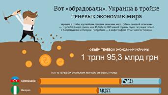 Украина в тройке теневых экономик мира