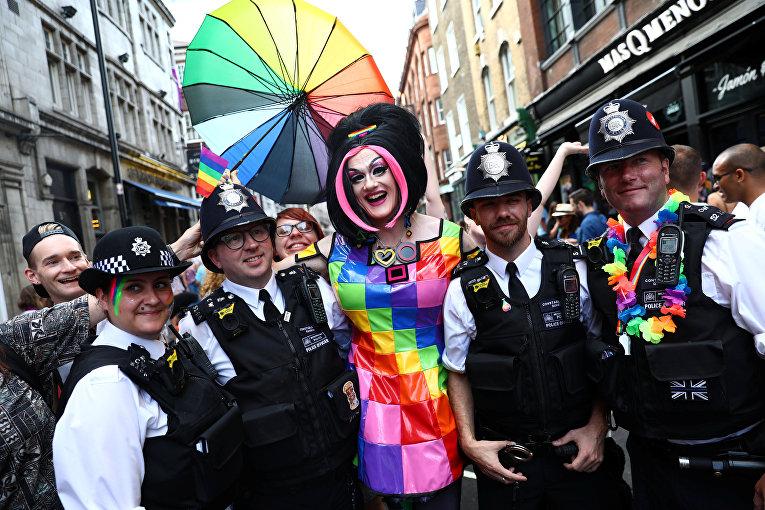 Крупнейший гей-прайд в истории Лондона