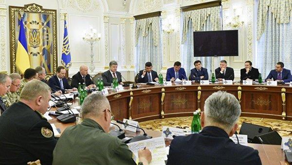 Совет безопасности иобороны утвердил оборонный заказ Украинского государства на2018-2020 годы
