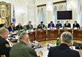 Заседание СНБО во главе с Петром Порошенко, 10 июля 2017