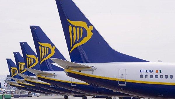 Самолеты Ryanair. Архивное фото
