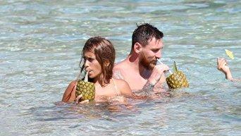Медовый месяц Месси и Ракуццо на Карибах