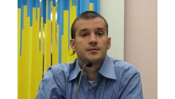 Исполнительный директор Украинского института будущего Виктор Андрусив
