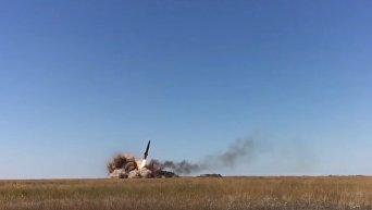 Практические пуски тактического ракетного комплекса Точка-У. Видео