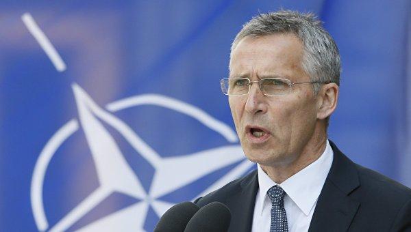 Визит в Украину Генерального секретаря НАТО Йенса Столтенберга
