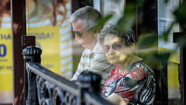 Люди пенсионного возраста. Архивное фото