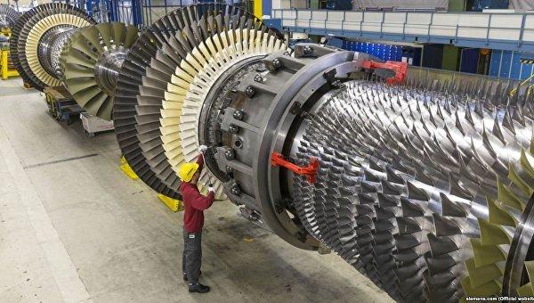 Газовая турбина комбинированного цикла (ПГУ) Siemens
