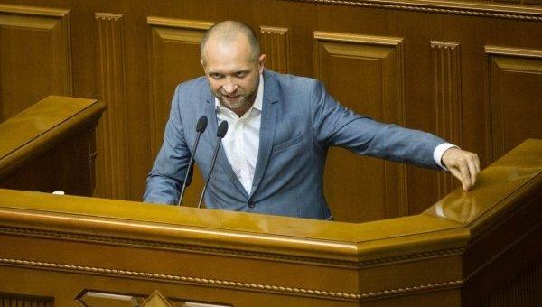 Депутат Верховной Рады Максим Поляков