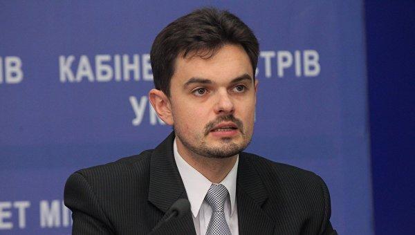 Заместитель министра информационной политики Украины Дмитрий Золотухин