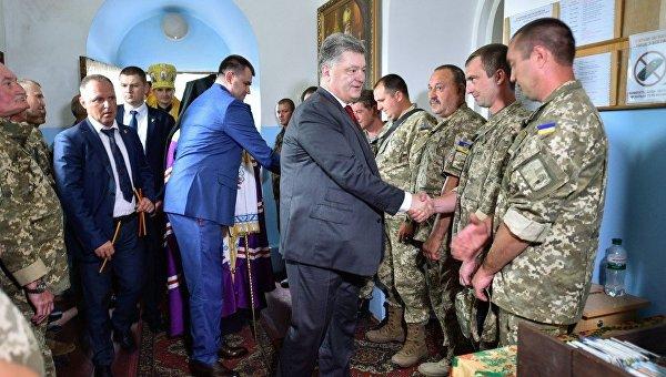 Визит Петра Порошенко в Сумы