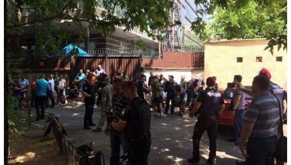 В Киеве задержали подозреваемых в организации провокации