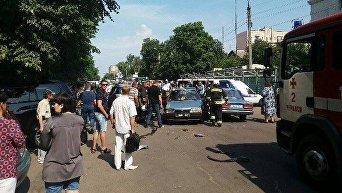 ДТП в Черкассах, 12 июля 2017