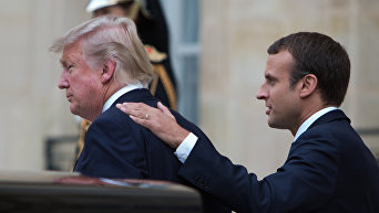 Визит президента США Д. Трампа в Париж