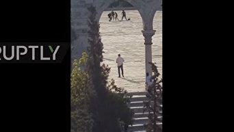 Стрельба у Храмовой горы в Иерусалиме