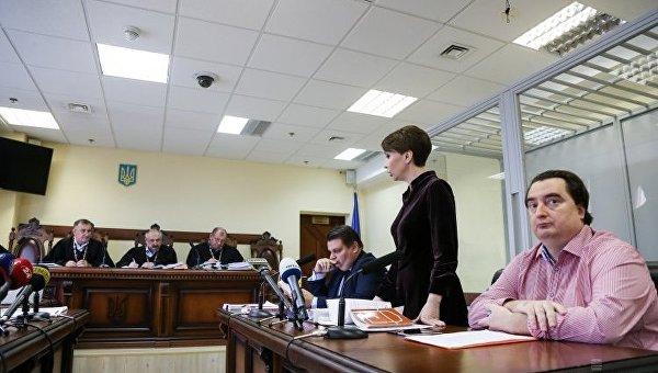 Заседание Апелляционного суда по избранию меры пресечения руководителю Интернет-издания Страна.UA. Игорю Гужве