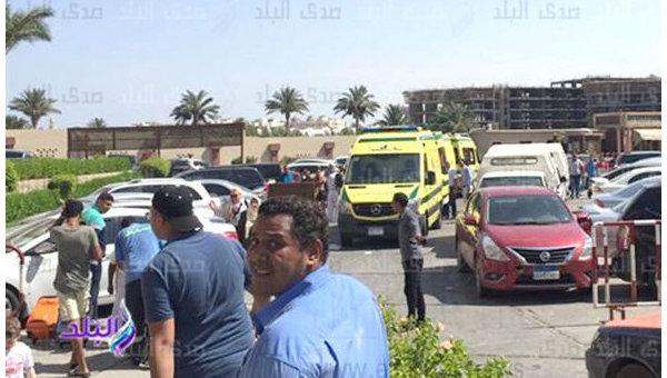 На месте убийства украинок в Египте