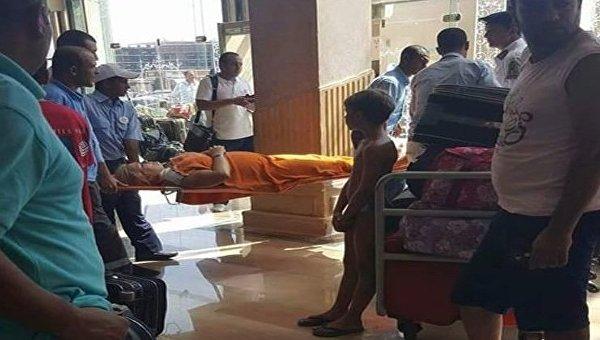 На месте резни в Египте