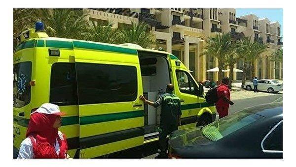 На месте убийства туристов в Египте