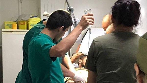 Ранение нардепа Народного фронта Евгения Дейдея в зоне АТО
