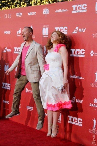 Красная дорожка Одесского кинофестиваля