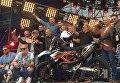 Кличко проехал Киевом с колонной мотоциклистов и открыл фестиваль мотоспорта MotoOpenFest
