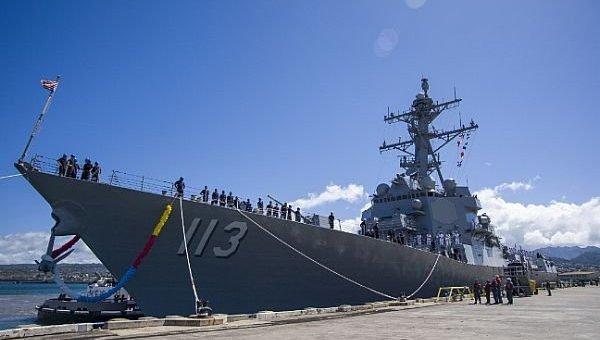 ВМС США ввели в строй новейший ракетный эсминец Джош Финн