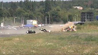 Авария на Moto Open Fest 2017