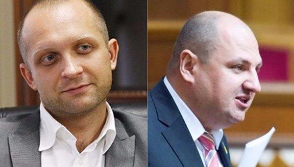 Максим Поляков и Борислав Розенблат