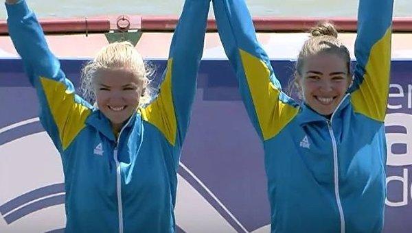 Украинки Кичасова и Горлова стали чемпионками Европы в гребле на байдарках