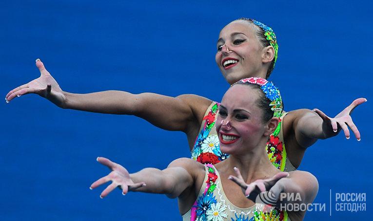 Елизавета Яхно и Анна Волошина (Украина)