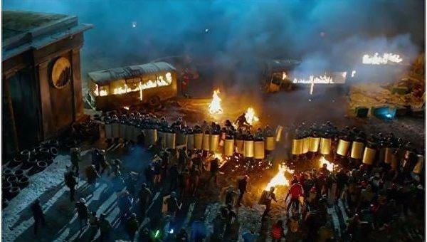 Кадр из фильма Крым