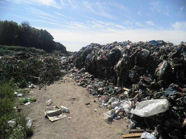 Львовский мусор под Киевом