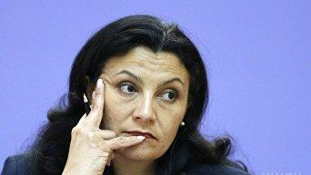 Вице-премьер Украины Иванна Климпуш-Цинцадзе