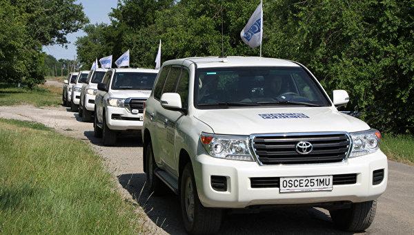 СММ ОБСЕ в Донбассе. Архивное фото
