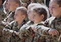 Детский  военизированный лагерь под Киевом